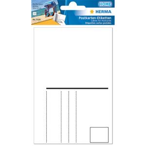 Herma 7758 HOME Postkartenetiketten - 95 x 145 mm -...