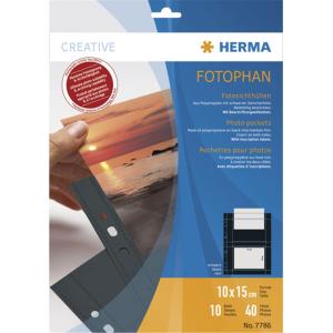 Herma 7786 Fotosichthüllen - Fotophan - 10 x 15 cm -...