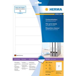 Herma 8620 SPECIAL Ordneretiketten - DIN A4 - 192 x 38 mm...