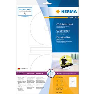 Herma 8624 SPECIAL CD-Etiketten - DIN A4 - Ø 116...