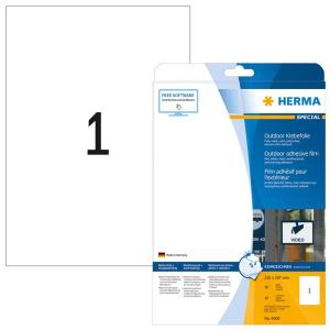 Herma 9500 SPECIAL Outdoor Folienetiketten - DIN A4 - 210...