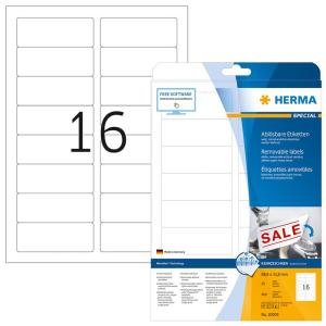 Herma 10009 SPECIAL Etikett - DIN A4 - 88,9 x 33,8 mm -...