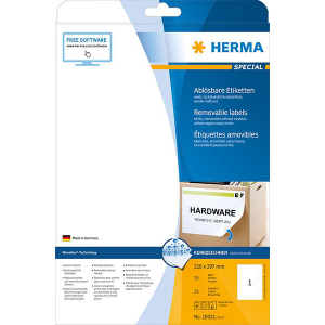 Herma 10021 SPECIAL Etikett - DIN A4 - 210 x 297 mm -...