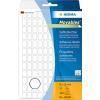 Herma 10600 Vielzwecketiketten - 8 x 12 mm - weiß - ablösbar - 3840 Stück