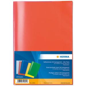 Herma 19991 Heftschoner - DIN A5 - transparent - farbig...