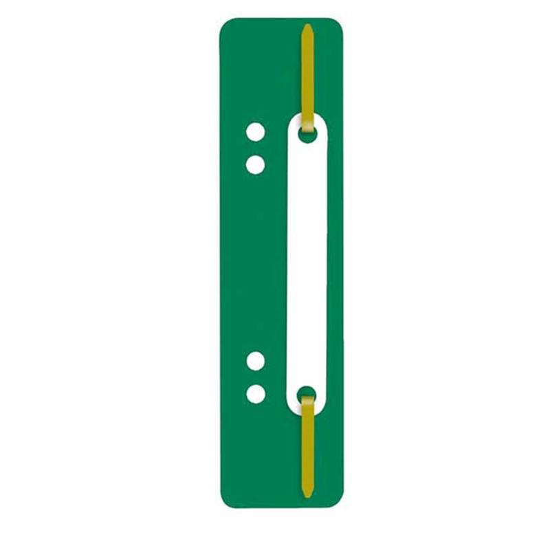 Heftstreifen PP, kurz, Kunststoffdeckleiste, grün,...