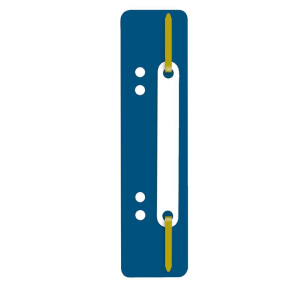 Wekre Heftstreifen PP, kurz, Kunststoffdeckleiste, blau