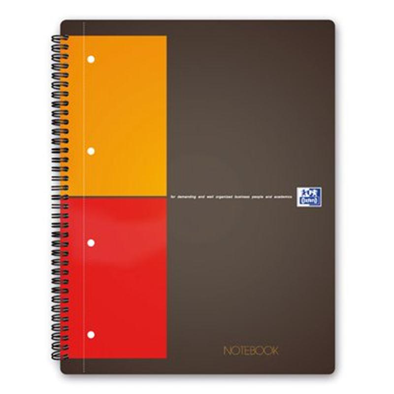 Oxford Collegeblock Notebook A4+ 80Bl kariert