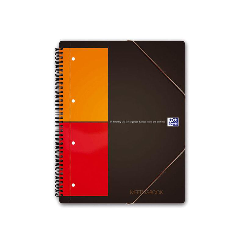 Oxford Collegeblock International MEETINGBOOK, kariert 5m