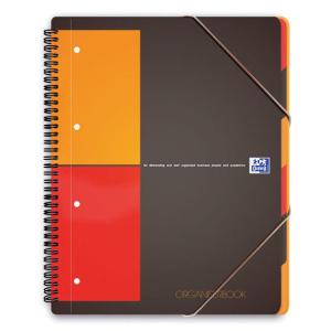 Oxford Organizerbook - DIN A4 - kariert - 80 Blatt