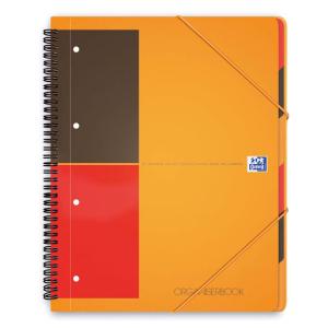Oxford Organizerbook International - DIN A4+ liniert - 90 Blatt