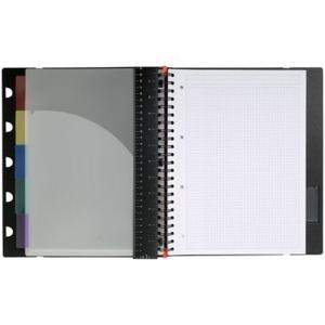 Exacompta Collegeblock RHODIA EXABOOK, kariert 5mm, 80 Blatt