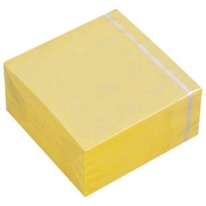 3M Haftnotiz-Würfel, 76x76mm, PG=400 BL, gelb