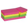 3M Haftnotiz neonfarben, 51x38mm, PG=12ST, Blatt 100
