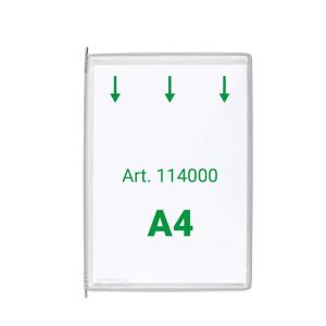 Tarifold Sichttafel A4 grau 10 Stück mit 5...