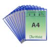 Tarifold Sichttafel DIN A4 Tarifold Metal, PG=10ST, blau