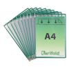 Tarifold Sichttafel DIN A4 Tarifold Metal, PG=10ST, grün