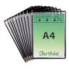 Tarifold Sichttafel DIN A4 Tarifold Metal, PG=10ST, schwarz