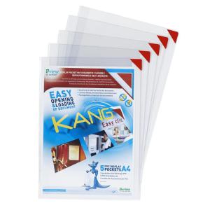 Tarifold Sichttasche KANG easy click, A4, transparent 5...