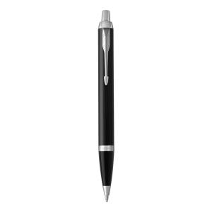 PARKER IM Black Lacquer C.C.Kugelschreiber Blau M