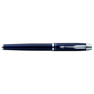 Parker Tintenroller Parker IM, Schaft blau, Metall, Clip