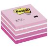 Post-it Haftnotiz-Würfel Pastellfarben, 76x76mm