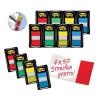 Post-it Haftstreifen Index, 25,4 x 43,2mm, 8 x 50 Streifen + 4 x 50 Streifen gratis