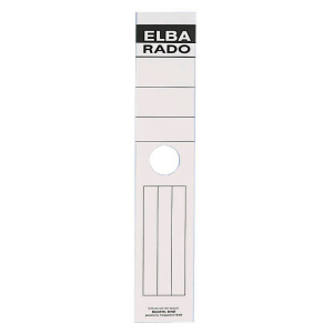ELBA Rückenschild lang/breit, 59 x 290 mm,...
