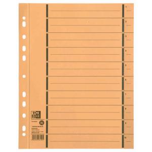 Oxford Trennblatt - DIN A4 - gelb - 100 Stück