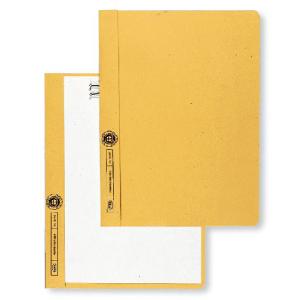 Elba Klemmhandmappe ohne Deckel  A4 gelb