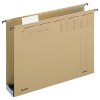 Leitz Hängesammler ALPHA - DIN A4 - mit Kunststoffboden - 6 cm - naturbraun