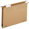 Leitz Hängesammler ALPHA - DIN A4 - mit Kunststoffboden - 4 cm - naturbraun