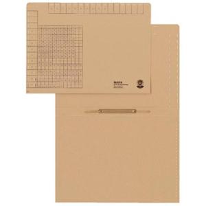 Leitz Einstellhefter - DIN A4 - naturbraun - 50 Stück