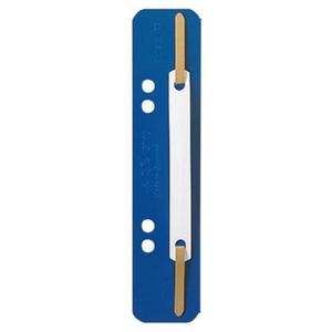 Leitz Heftstreifen aus Kunststoff - blau - 25 Stück