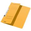 Leitz Schlitzhefter - DIN A4 - halber Vorderdeckel - gelb