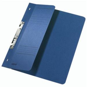 Leitz Schlitzhefter - DIN A4 - halber Vorderdeckel - blau