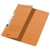 Leitz Schlitzhefter - DIN A4 - halber Vorderdeckel - orange