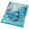 Leitz Sichthülle Premium - DIN A4 - 0,15 mm - blau - 100 Stück