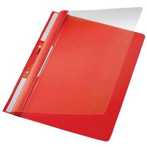 Leitz Universal Plastik-Einhängehefter - DIN A4 - rot