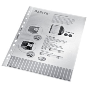 Leitz Prospekthülle - DIN A4 - 0,1 mm - fabrlos -...