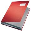 Leitz Unterschriftenmappe - DIN A4 - 20 Fächer - rot