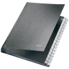 Leitz Pultordner - DIN A4 - Hartpappe - 32 Fächer - 1-31 - schwarz