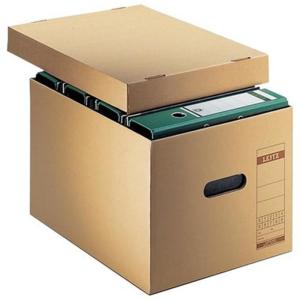 Leitz Archivbox Transportkarton - DIN A4 - naturbraun