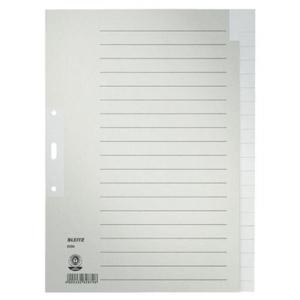 Leitz Register - DIN A4 - für Hängeordner -...