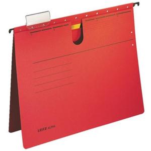 Leitz Hängehefter ALPHA - ohne Tasche - DIN A4 - rot...
