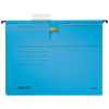 Leitz Hängehefter ALPHA - ohne Tasche - DIN A4 - blau - 5 Stück