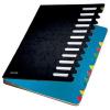 Leitz Deskorganizer Color - Pultordner - DIN A4 - 12 Fächer - schwarz