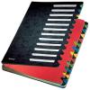 Leitz Deskorganizer Color - Pultordner - DIN A4 - 24 Fächer - schwarz