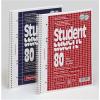 Brunnen Collegeblock Student, kariert, A4, Qualität RC, 70