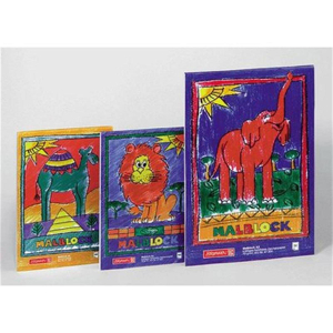 Brunnen Zeichenblock mit Kindermotiven, 100 Blatt, A4, 70